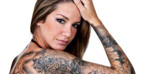 Jesus Tattoo Breast Augmentation