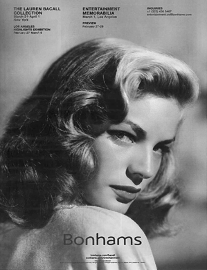 Lauren Bacall THR