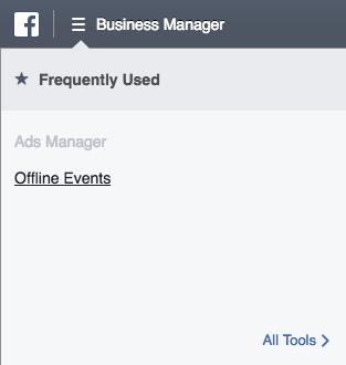 Business Manager Mini-menu