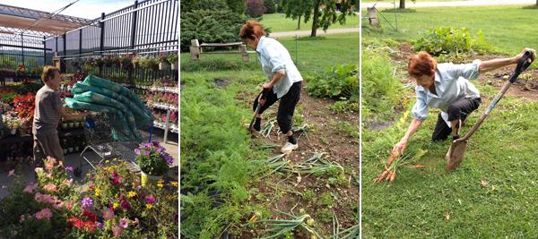 Gramma Tee Gardening